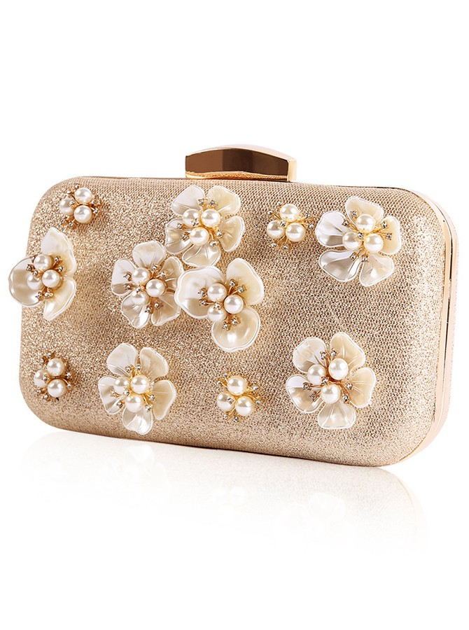 Lovely Pearl Bridal Purse